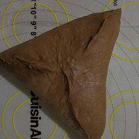 #晒出你的团圆大餐#巧克力红豆肉松麻薯软欧的做法图解13