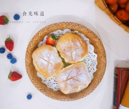 超松软蔓越莓小面包#快手又营养,我家的冬日必备菜品#的做法