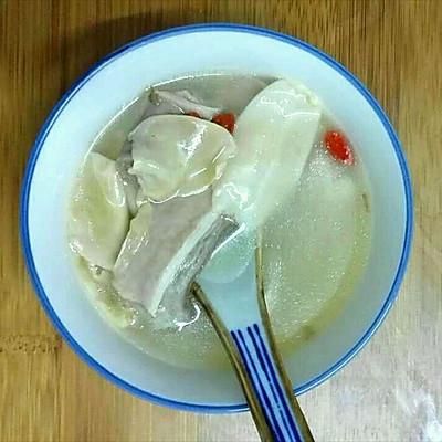 猪肚包花胶汤(附猪肚洗法)