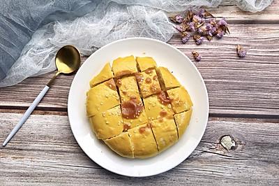 #520,美食撩动TA的心!#榴莲芝士饼