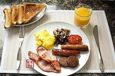 【曼步厨房】传统的爱尔兰早餐