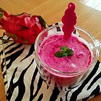 火龙果酸奶昔的做法图解9