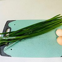 韭菜鸡蛋饼(韭菜炒蛋)二种做法的做法图解1
