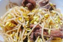 排骨烧黄豆芽的做法