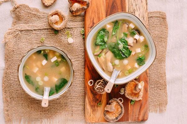 健康营养的日本国汤 | 日式味增汤的做法