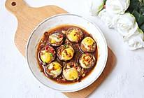 鹌鹑蛋香菇盏的做法