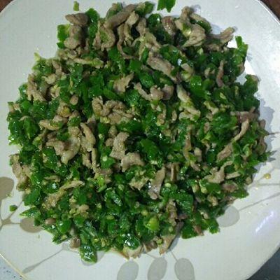 青椒炒肉--不一样的小炒肉,超级简单的下饭神器