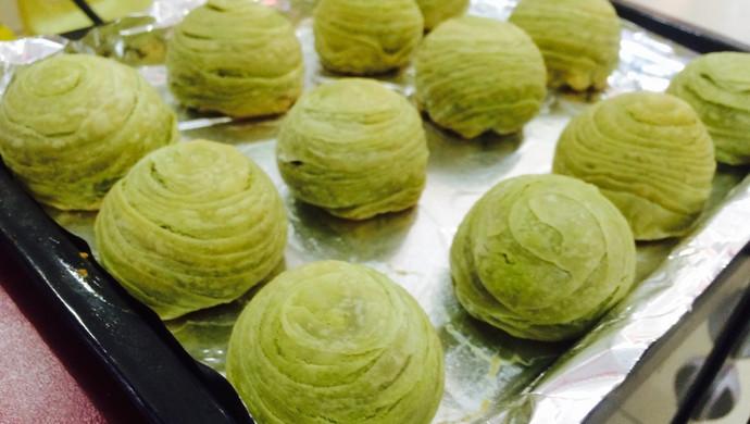 #九阳食尚学院#香甜抹茶酥