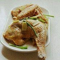 葱油鸡的做法图解1