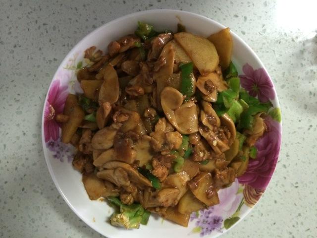 鸡肉炒菜的做法_【图解】鸡肉炒菜怎么做如何做好吃