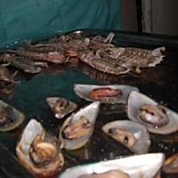 烤青口、濑尿虾的做法图解6