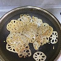醋溜藕片的做法图解5