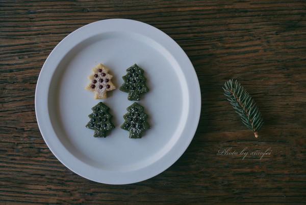 圣诞树双色夹心饼干