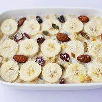 #晒出你的团圆大餐#香蕉牛奶烤燕麦的做法图解12