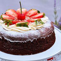 【巧克力草莓蛋糕】——COUSS CO-750A智能烤箱出品