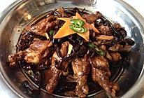 鸡翅烧榛蘑的做法