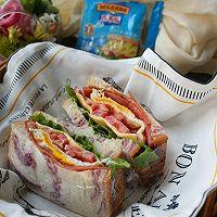 口袋三明治#百吉福食尚达人#的做法图解12