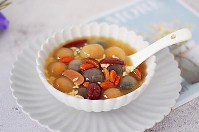 红枣枸杞酒酿汤圆