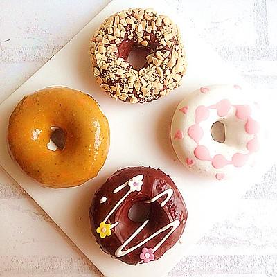 甜甜蜜蜜——不吸油的甜甜圈
