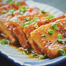 #做道懒人菜,轻松享假期#锅塌豆腐