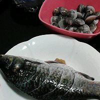 河鲫鱼蛤蜊汤的做法图解2