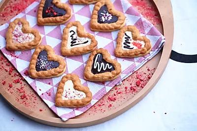 ❤️ 情人节心形饼干❤️