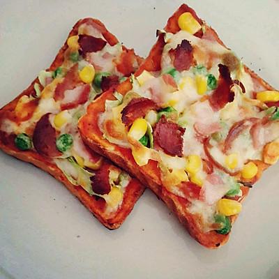 Mini pizza 迷你土司披萨