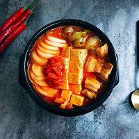 韩式五花肉辣白菜豆腐汤 思密达style 看韩剧必备宵夜的做法图解11