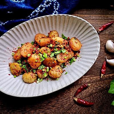 簡單好吃的鍋巴洋芋