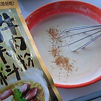 【大喜大牛肉粉试用之一】---牛肉粉鸡蛋饼的做法图解4