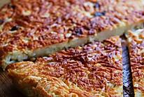 【葱花鸡蛋面饼】消耗煮多了的剩面条的做法