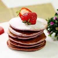 健康元气早餐——紫薯松饼