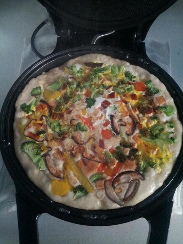 简单早餐——电饼铛披萨的做法