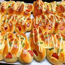 火腿肠咸面包