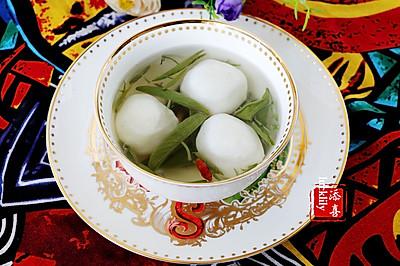 【祺宝家厨】杭州经典名菜:西湖莼菜鱼圆汤