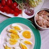 金枪鱼白煮蛋沙拉的做法图解2