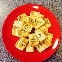 罗勒烤豆腐