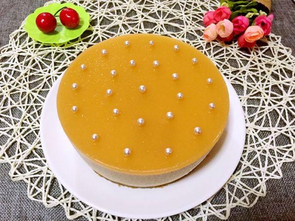 芒果慕斯蛋糕(六寸)的做法