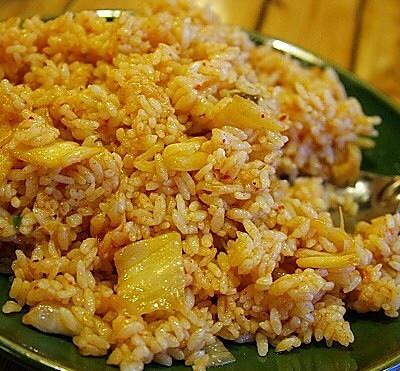 减肥餐超好吃的白菜焖米饭