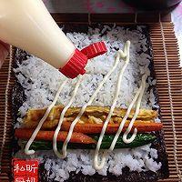 家庭版寿司的做法图解8
