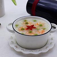 虾仁青豆糯米粥的做法图解7