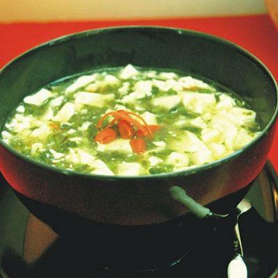 香椿豆腐羹