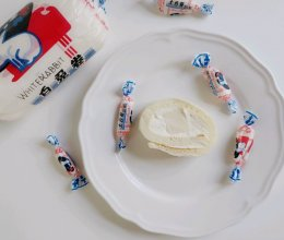 #花10分钟,做一道菜!#网红白兔卷的做法