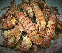 椒盐攋尿虾的做法