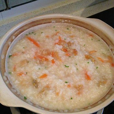 干贝海鲜粥