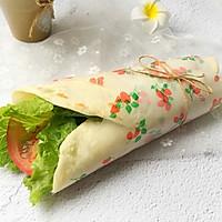 家庭版蔬菜肉卷饼#每一道菜都是一台食光机