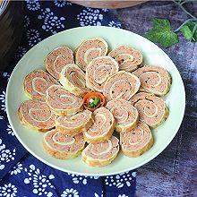 #柏翠辅食节-健康食疗#胡萝卜鸡蛋卷