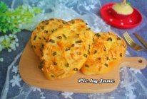 香葱芝士面包#松下多面美食味#的做法