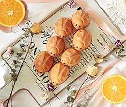 橙香玛德琳蛋糕趣味甲壳虫造型的做法