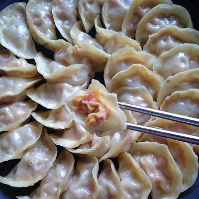 西红柿鸡蛋猪肉饺
